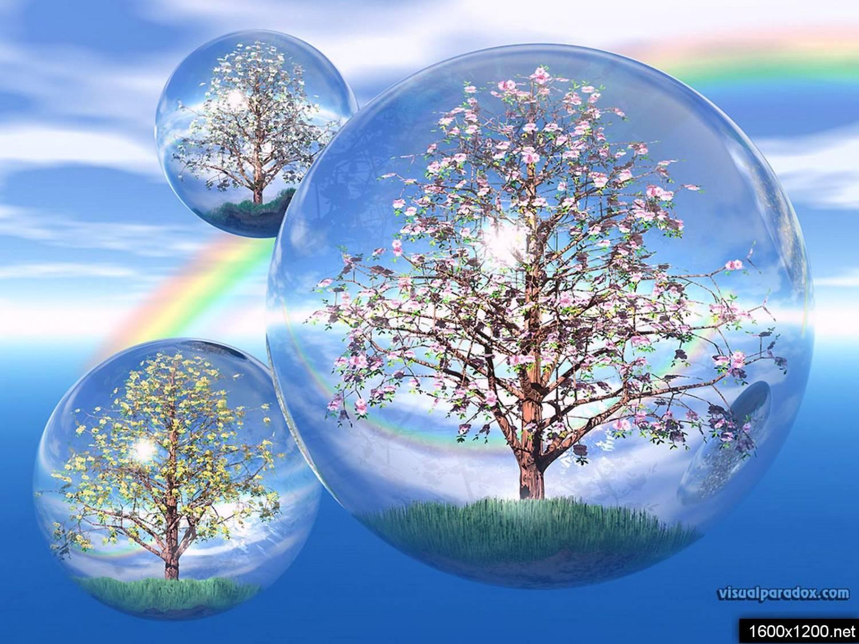 The isolated tree одинокое дерево вектор лес